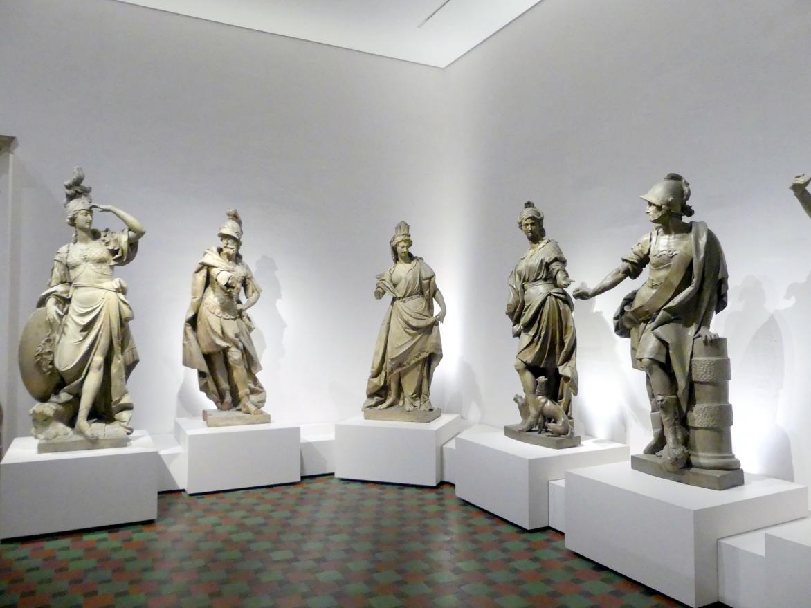 Johann Baptist Straub: Götterfiguren aus dem Münchner Palais Toerring-Jettenbach, Um 1772
