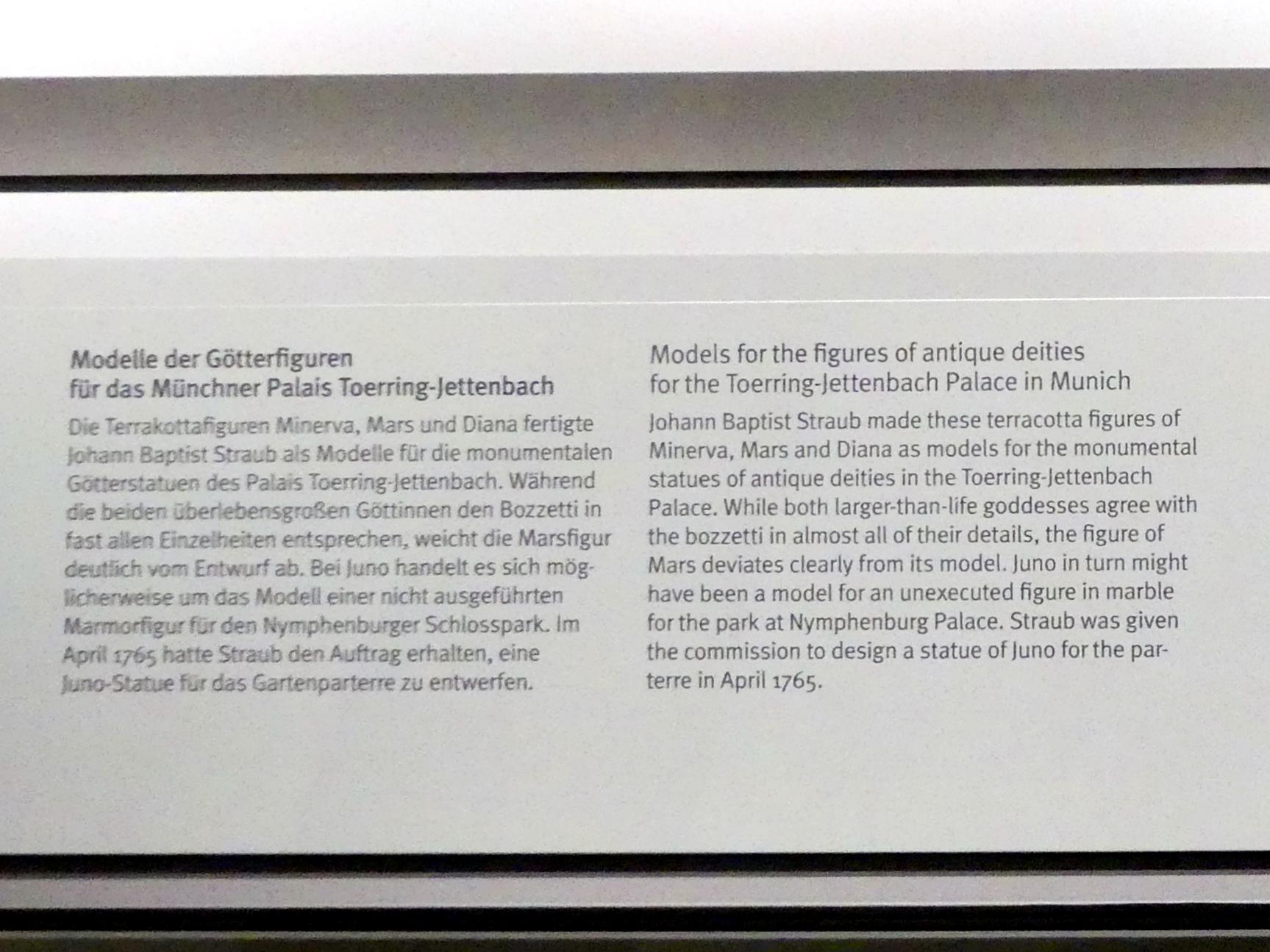 Johann Baptist Straub: Minerva - Modell für das Münchner Palais Toerring-Jettenbach, um 1772, Bild 3/3