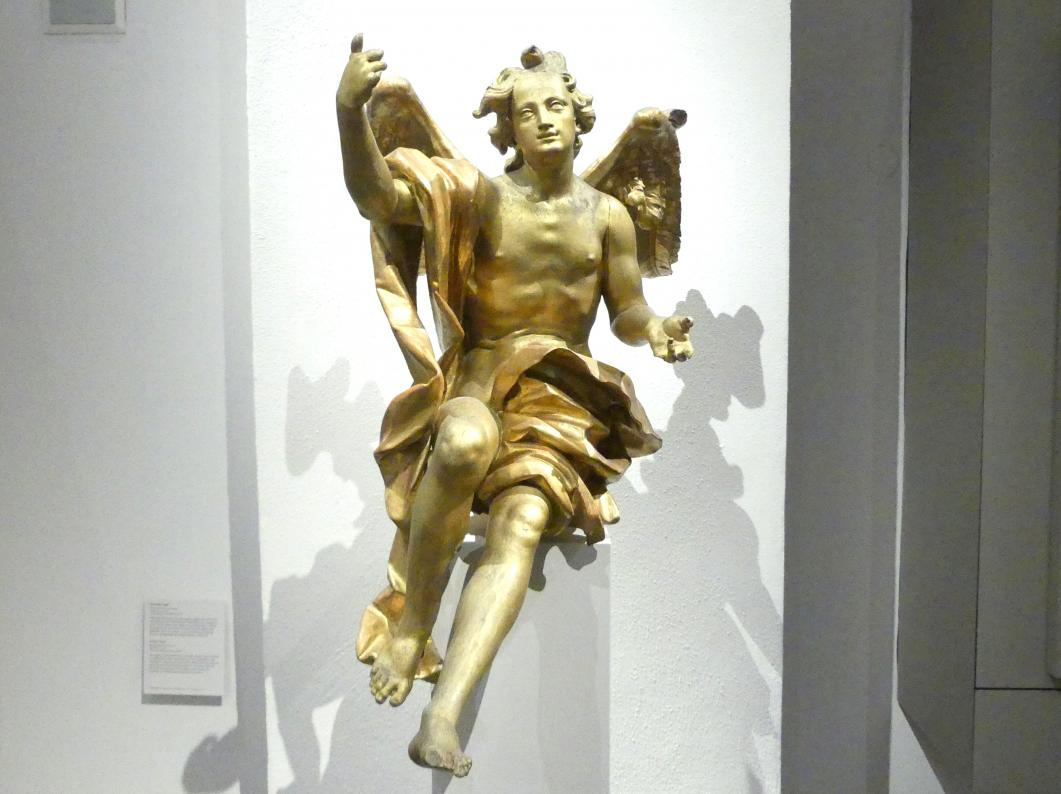Johann Joseph Christian: Sitzender Engel, um 1760