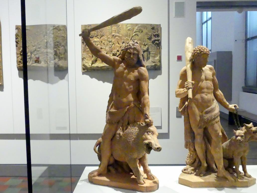 Roman Anton Boos: Herkules mit dem Kalydonischen Eber, Um 1779