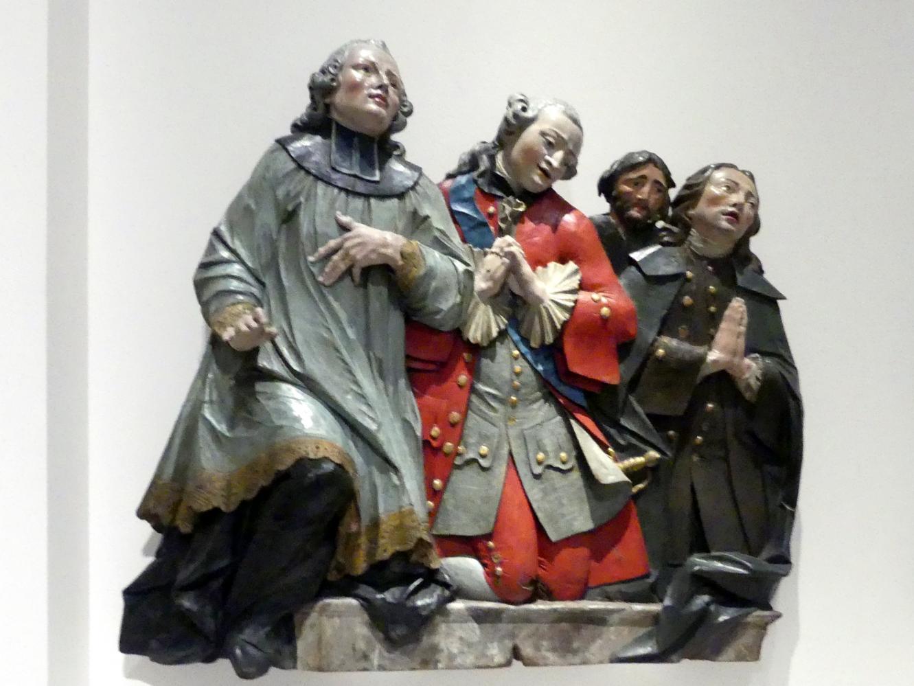 Christian Jorhan der Ältere: Vertreter verschiedener Stände in ewiger Anbetung, um 1760 - 1765
