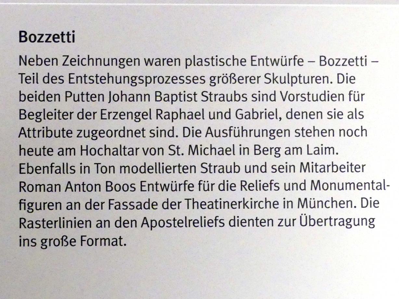 Johann Baptist Straub: Tobias als Putto mit Fisch, um 1767, Bild 4/5