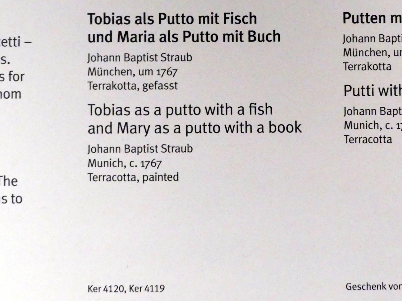 Johann Baptist Straub: Maria als Putto mit Buch, um 1767, Bild 3/5