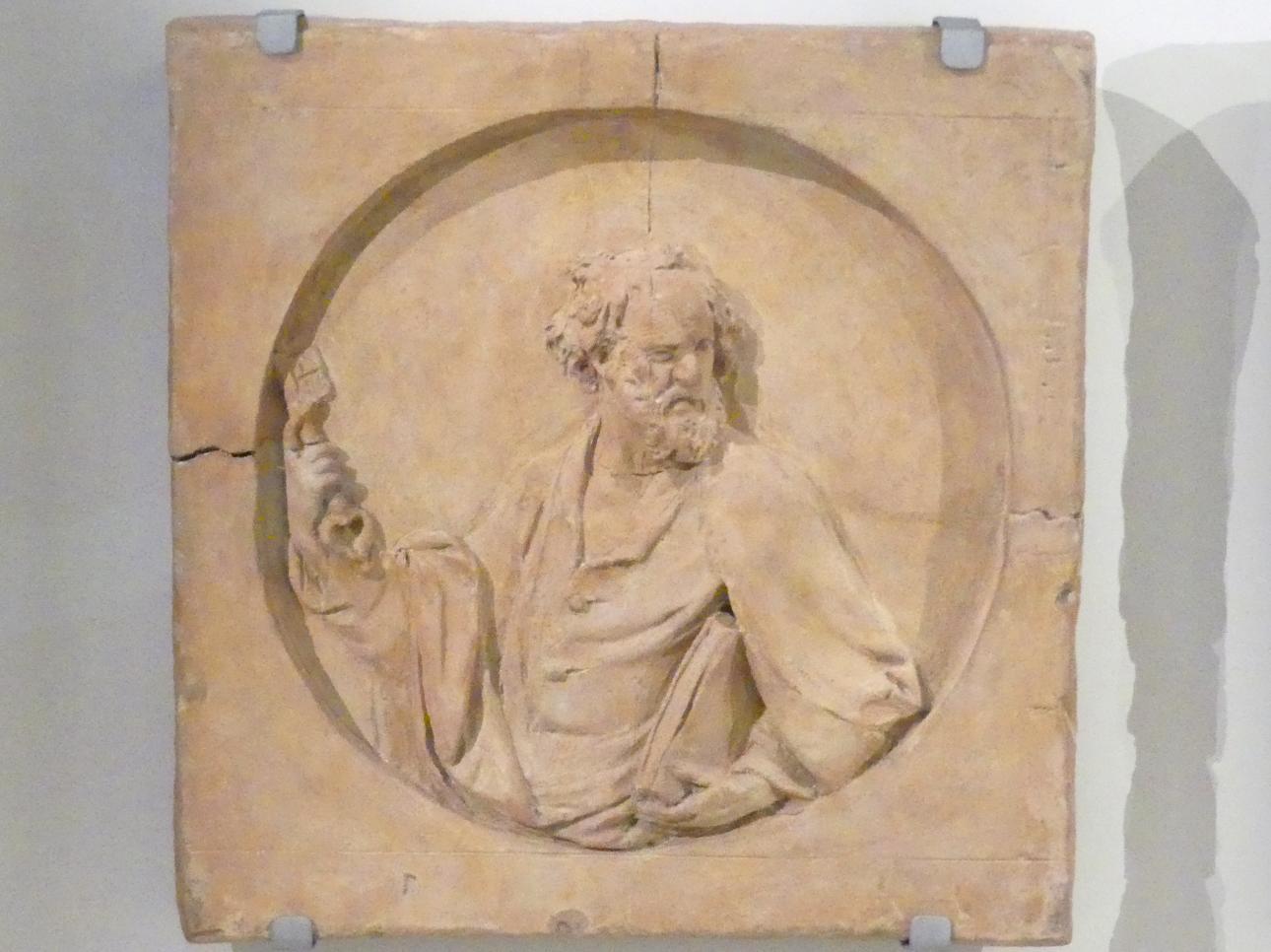Roman Anton Boos: Apostel Petrus, um 1767