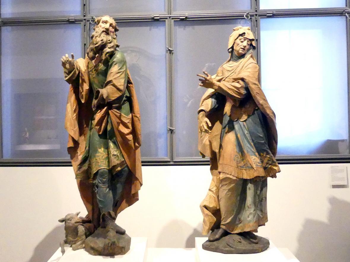 Ignaz Günther: Die heiligen Joachim und Anna, um 1765 - 1772