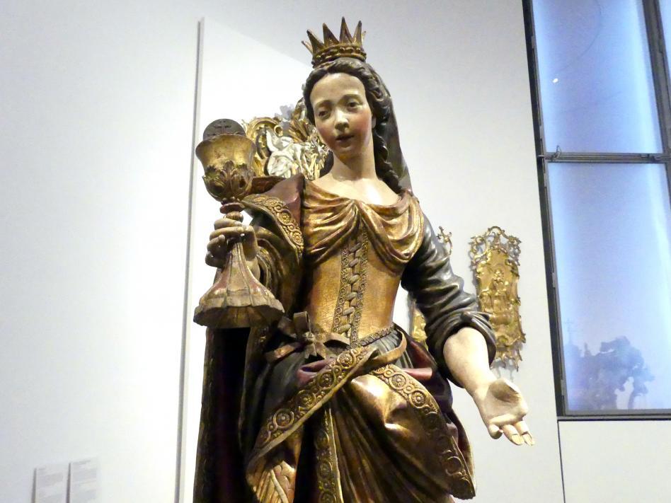 Friedrich Theiler: Heilige Barbara, Um 1770 - 1780