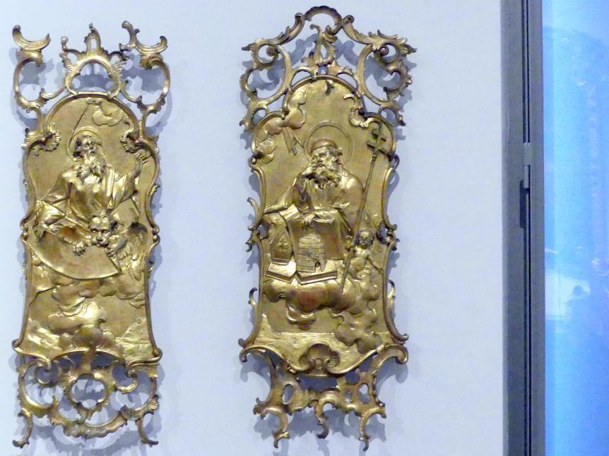 Joseph Deutschmann: Heiliger Ambrosius, Um 1760