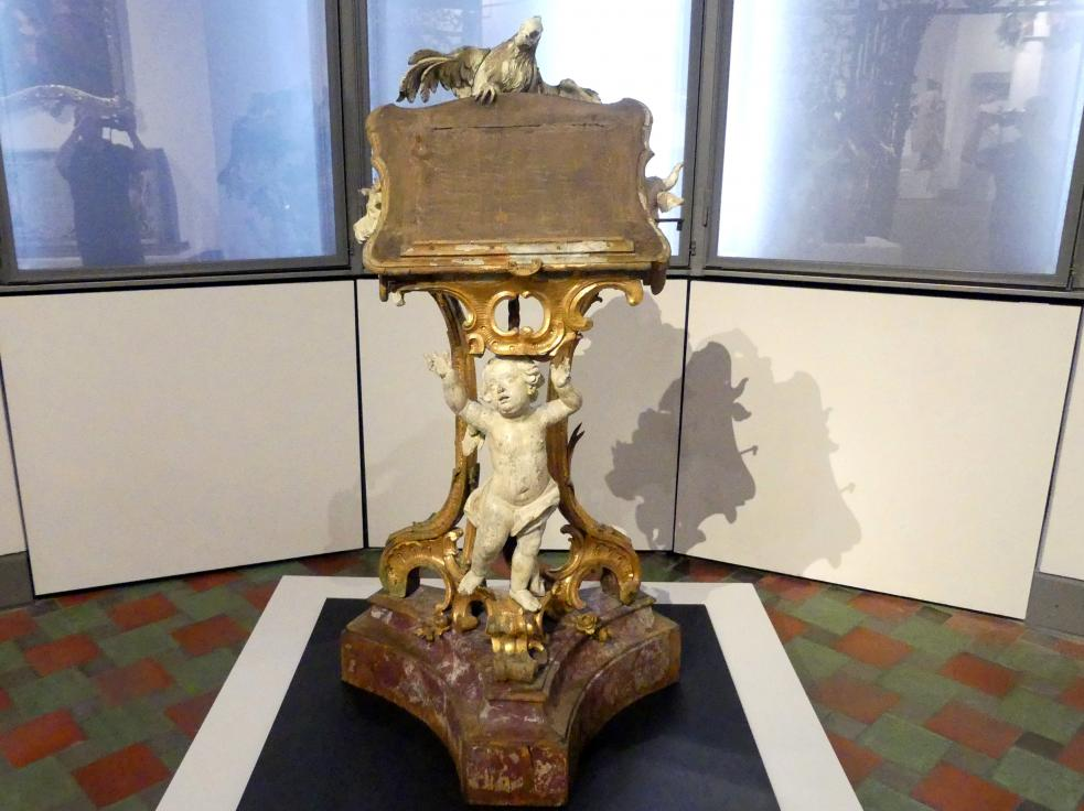Placidus Verhelst: Evangelienpult, Um 1760 - 1770