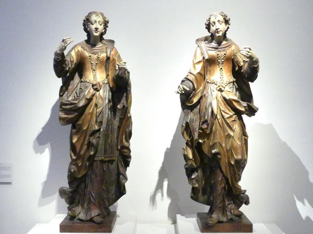 Lorenz Luidl: Zwei weibliche Heilige, 1710