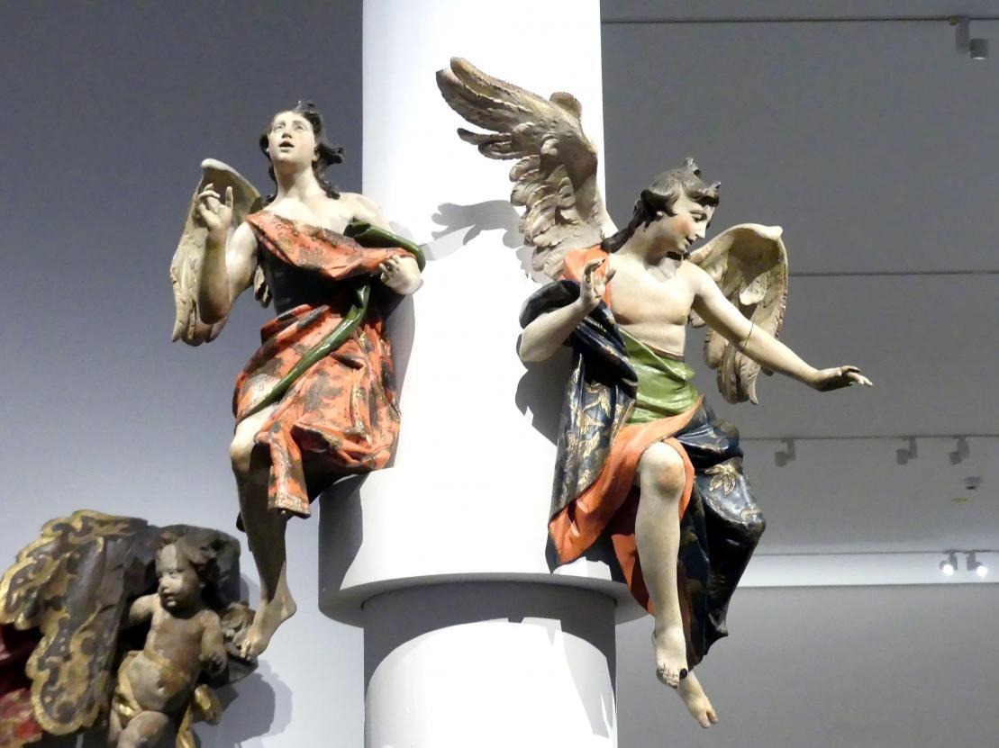 Johann Baptist Straub: Zwei Engel, 1750 - 1760