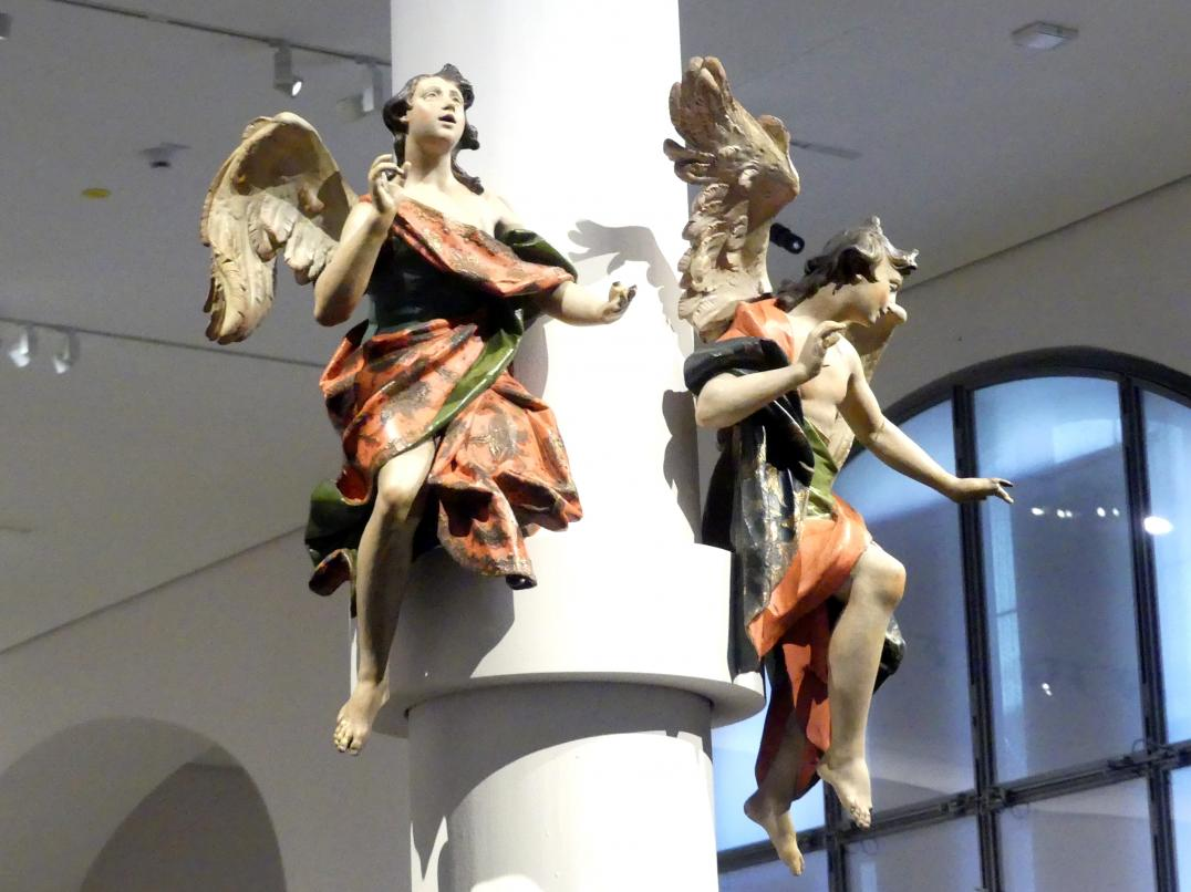 Johann Baptist Straub: Zwei Engel, 1750 - 1760, Bild 2/4