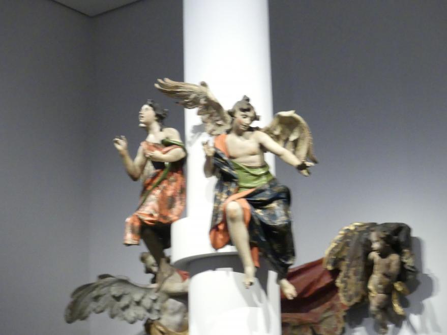 Johann Baptist Straub: Zwei Engel, 1750 - 1760, Bild 3/4