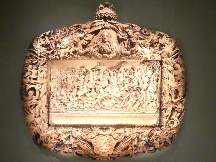Johann Leonhard Bauer: Alexander der Große überschreitet den Granikos, Um 1715