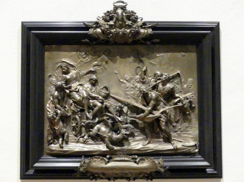 Massimiliano Soldani (Massimiliano Soldani Benzi): Die vier Jahreszeiten: Allegorie des Ackerbaus (Triumph des Ceres), 1708