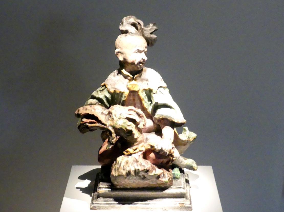 Ferdinand Tietz (Ferdinand Dietz): Chinese mit Drachen, Um 1765 - 1770