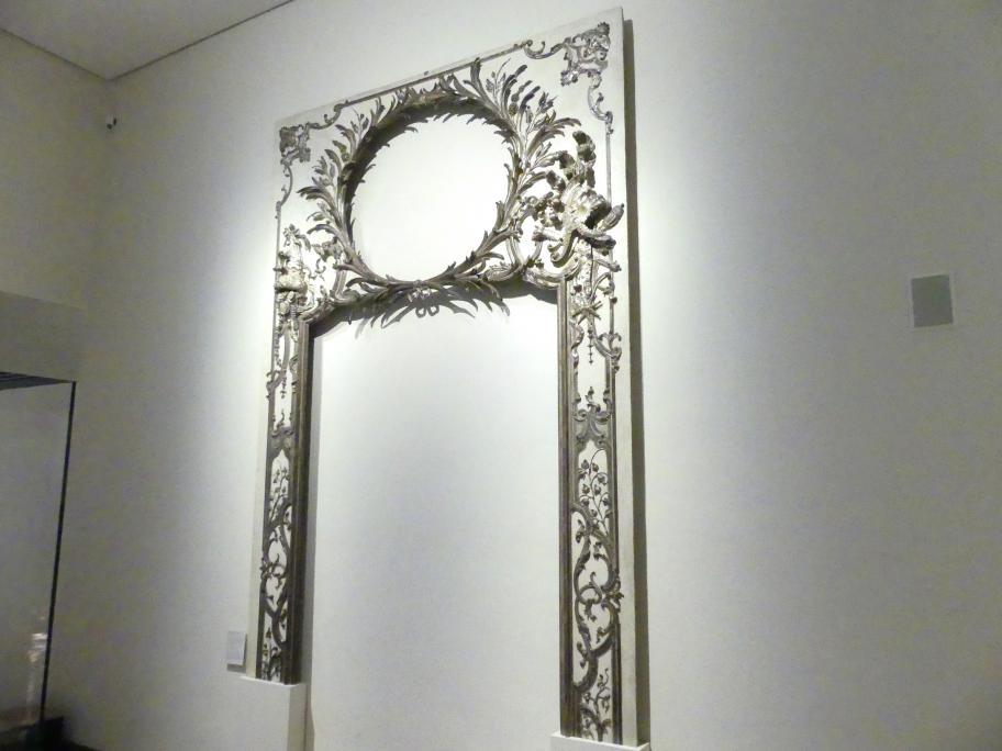 François de Cuvilliés der Ältere: Spiegelrahmen aus einer Wandverkleidung, Um 1730