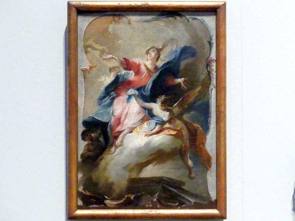 Johann Wolfgang Baumgartner: Mariä Himmelfahrt, Um 1750 - 1760