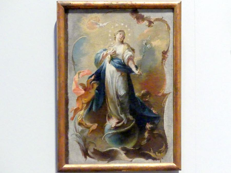 Johann Wolfgang Baumgartner: Maria Immaculata, Um 1750 - 1760
