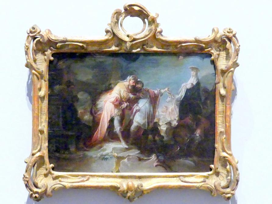 Johann Wolfgang Baumgartner: Abschied Abrahams von Lot, Nach 1757