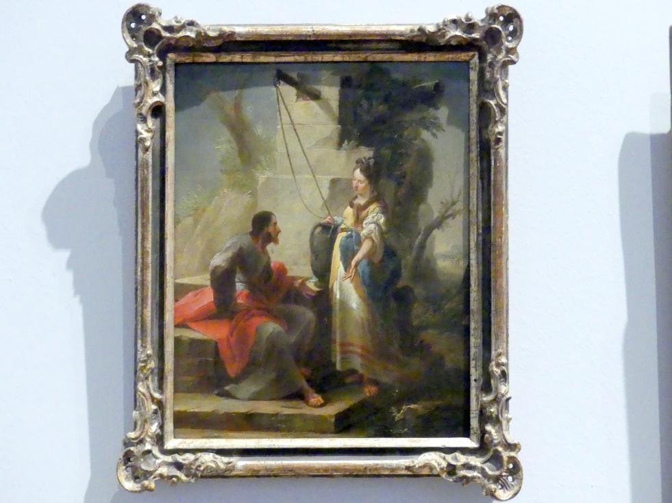 Johann Christian Thomas Wink: Christus und die Samariterin am Brunnen, 1762