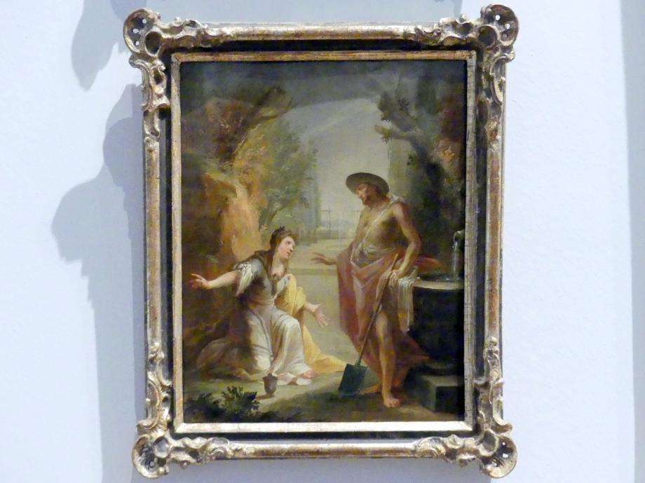 Johann Christian Thomas Wink: Christus als Gärtner, 1762