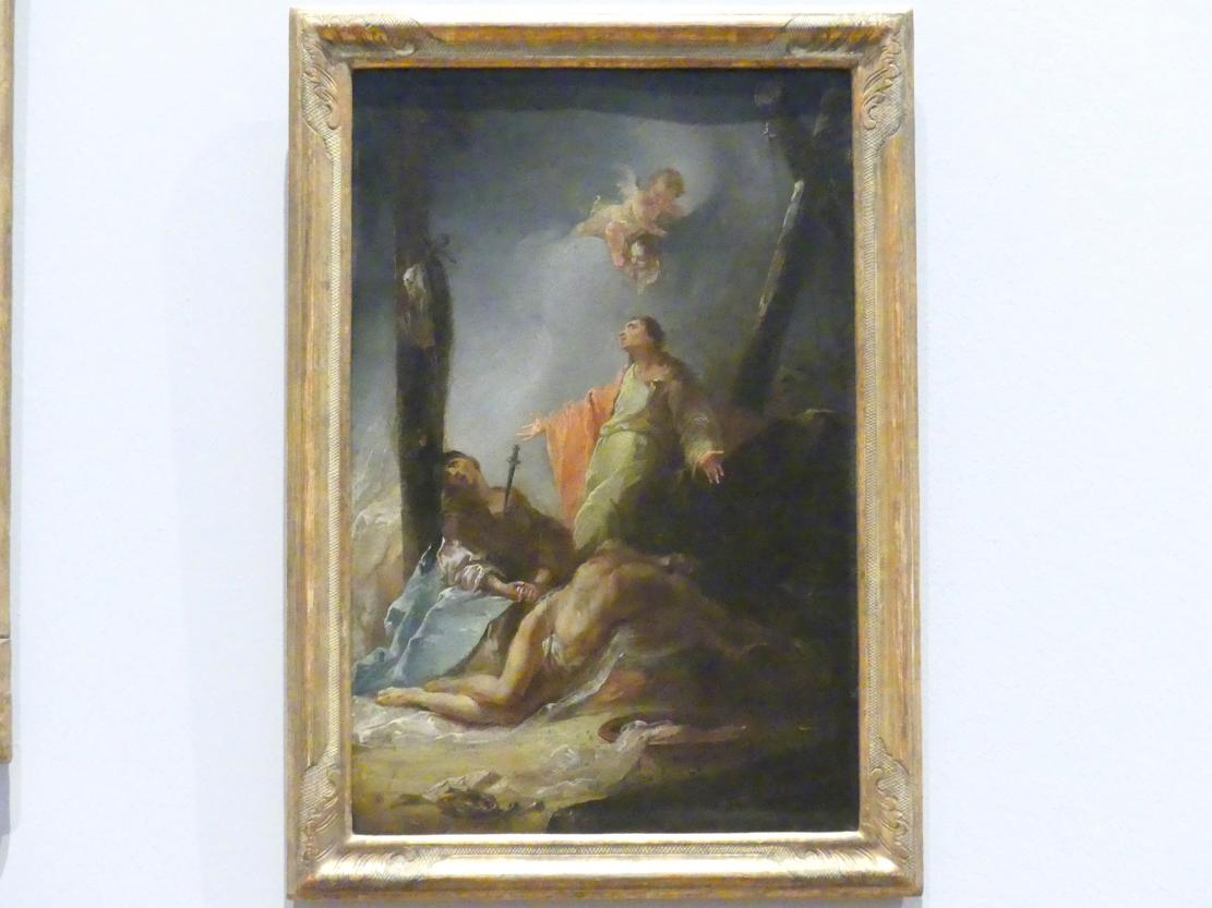 Johann Christian Thomas Wink: Beweinung Christi, Um 1765 - 1770
