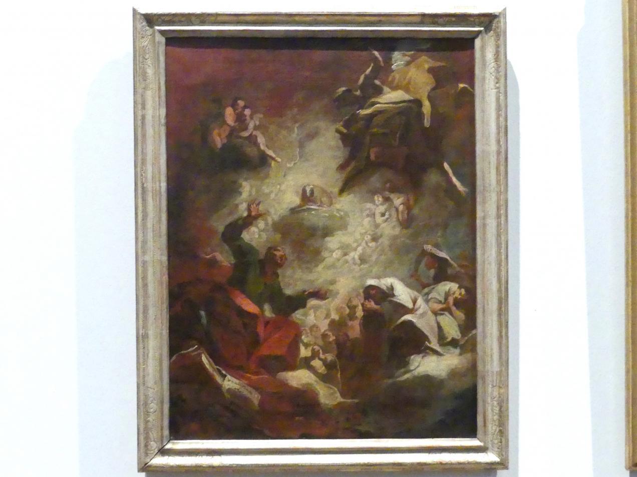 Franz Joseph Spiegler: Anbetung des Apokalyptischen Lammes durch die 24 Ältesten, 1747