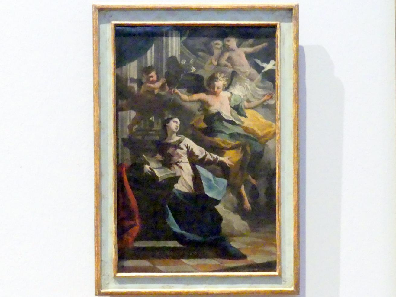 Johann Jakob Zeiller: Verkündigung Mariens, Um 1760