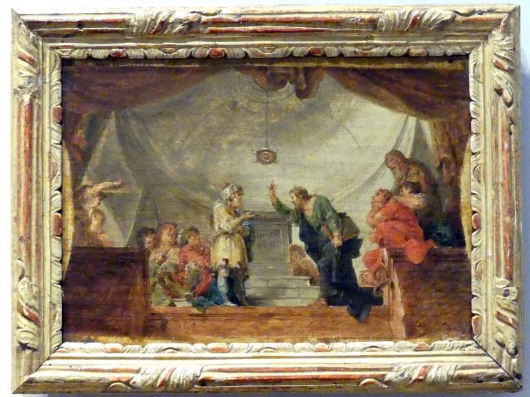 Januarius  Zick: Die Predigt des Apostels Paulus in Athen, 1786