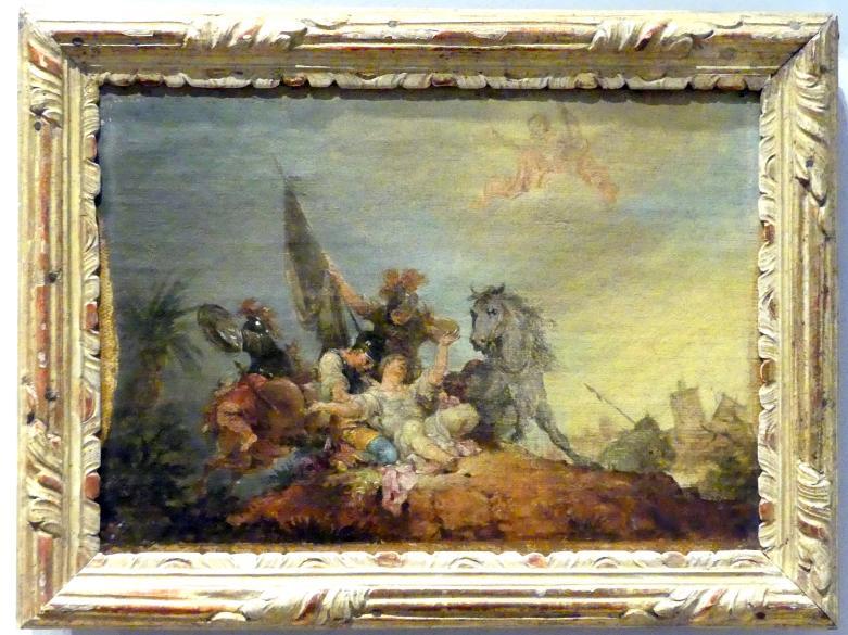 Januarius  Zick: Bekehrung des Paulus, 1786