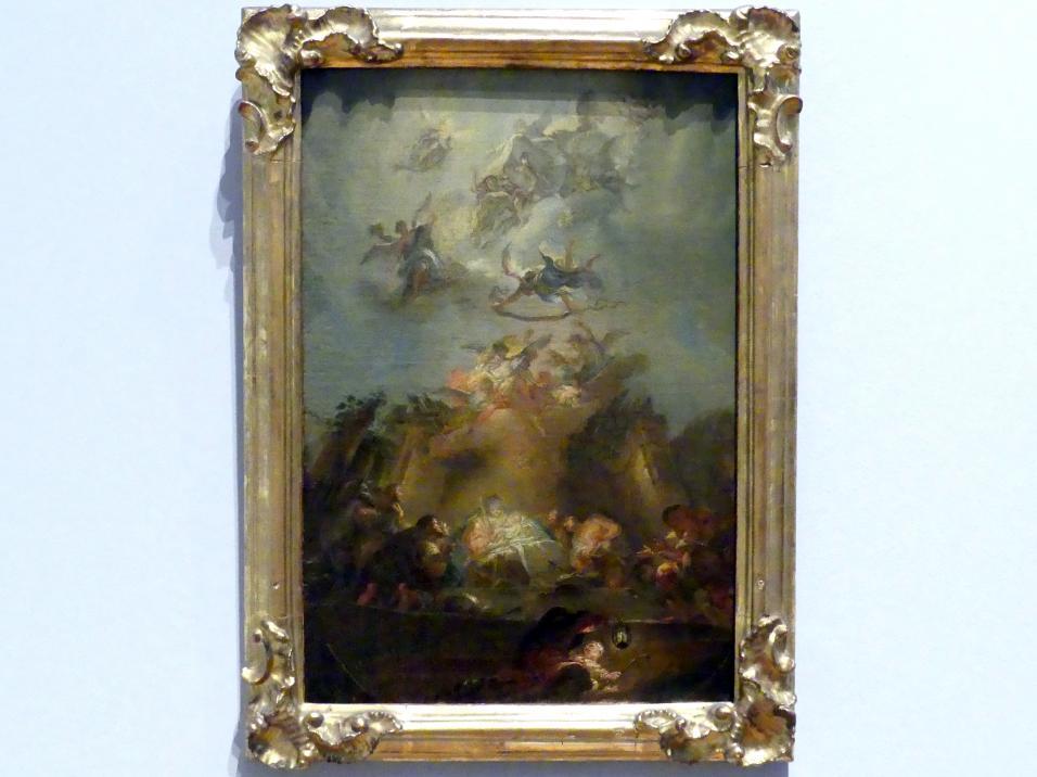 Johann Baptist Enderle: Anbetung der Hirten, Um 1776 - 1777