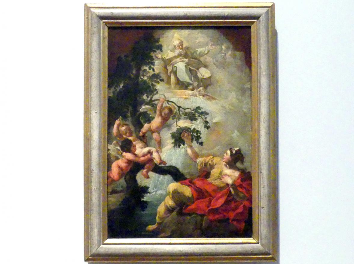 Johann Michael Franz: Allegorie der göttlichen Gnade, Um 1770