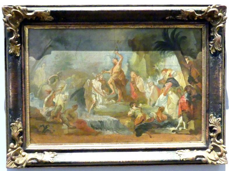 Eustachius Gabriel: Taufe Christi im Jordan, Um 1770 - 1771