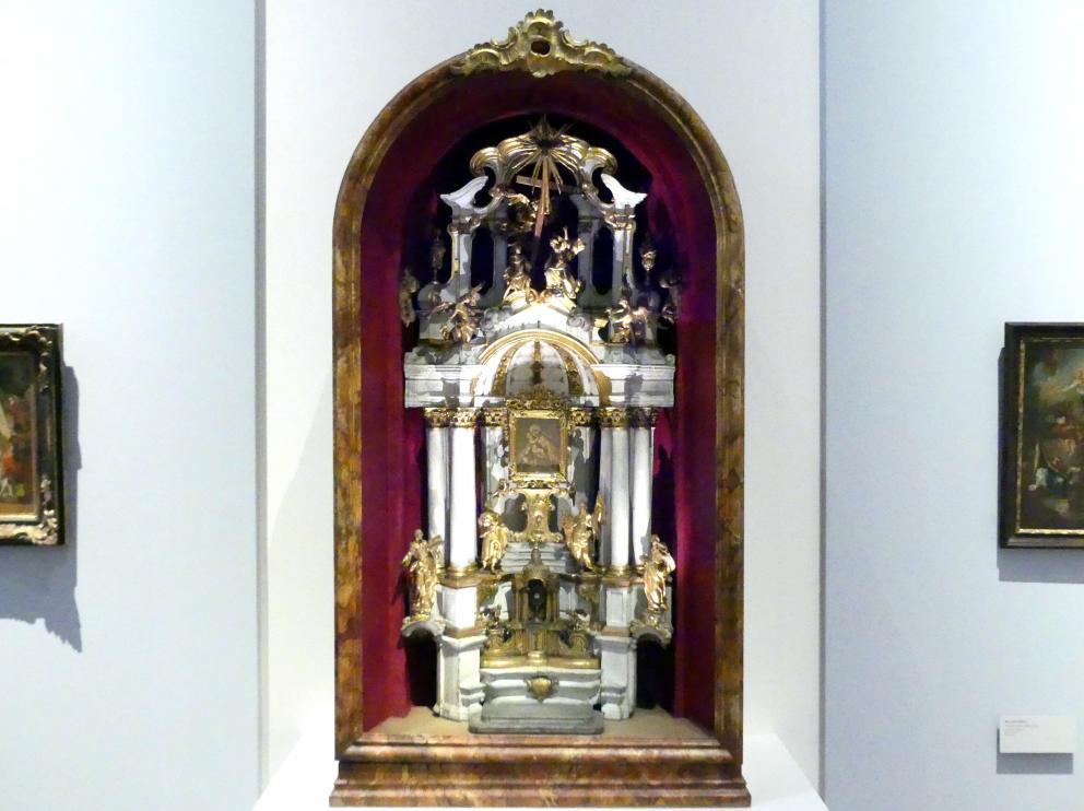Johann Joseph Resler: Modell für den Hochaltar der Mariahilfer Kirche in Wien, Um 1757 - 1758