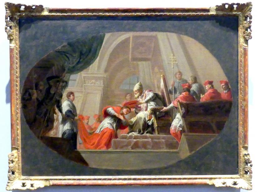 Martin Knoller: Der heilige Karl Borromäus empfängt den Kardinalshut, Um 1765 - 1766