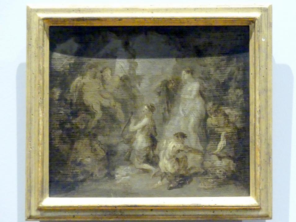 Franz Anton Maulbertsch: Orpheus in der Unterwelt, Um 1785