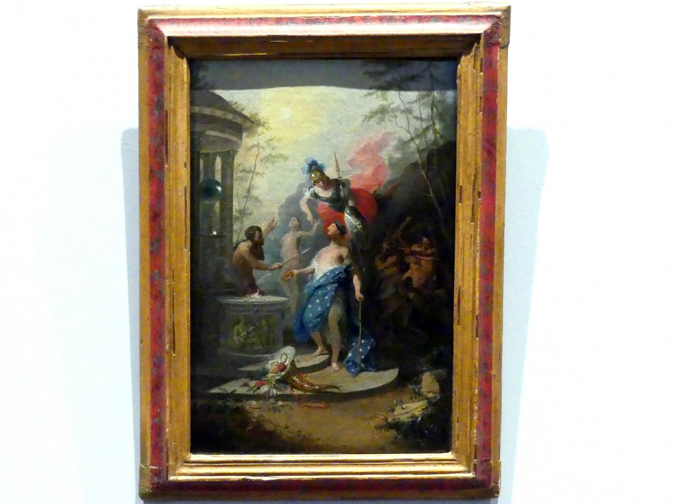 Franz Anton Maulbertsch: Prometheus erschafft den Menschen, um 1788