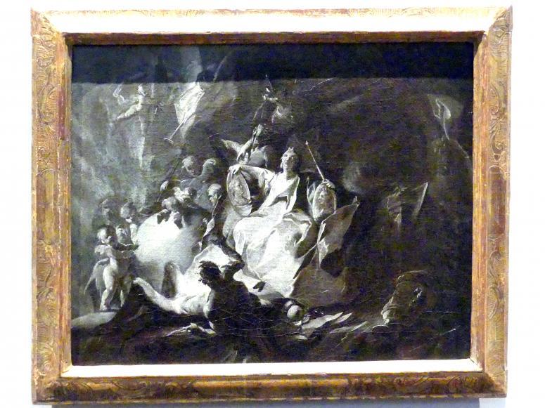 Allegorie auf die Wiener Kunstakademie, Um 1750
