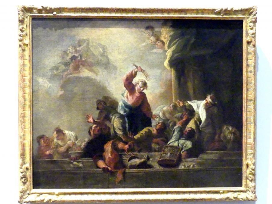 Franz Zoller: Die Vertreibung der Händler und Wechsler aus dem Tempel, 1772