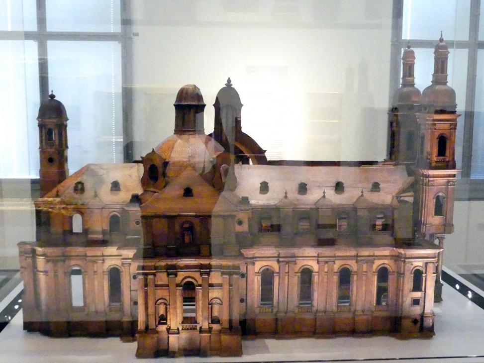 Modell der Abteikirche Münsterschwarzach, 1726 - 1727