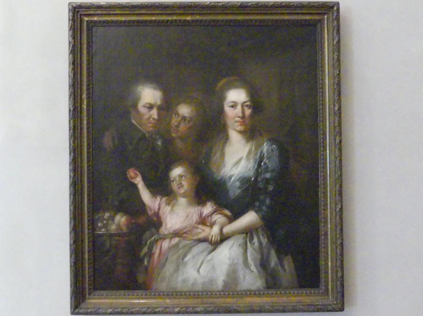 Johann Georg Edlinger: Die Familie des Bildhauers Roman Anton Boos, um 1790