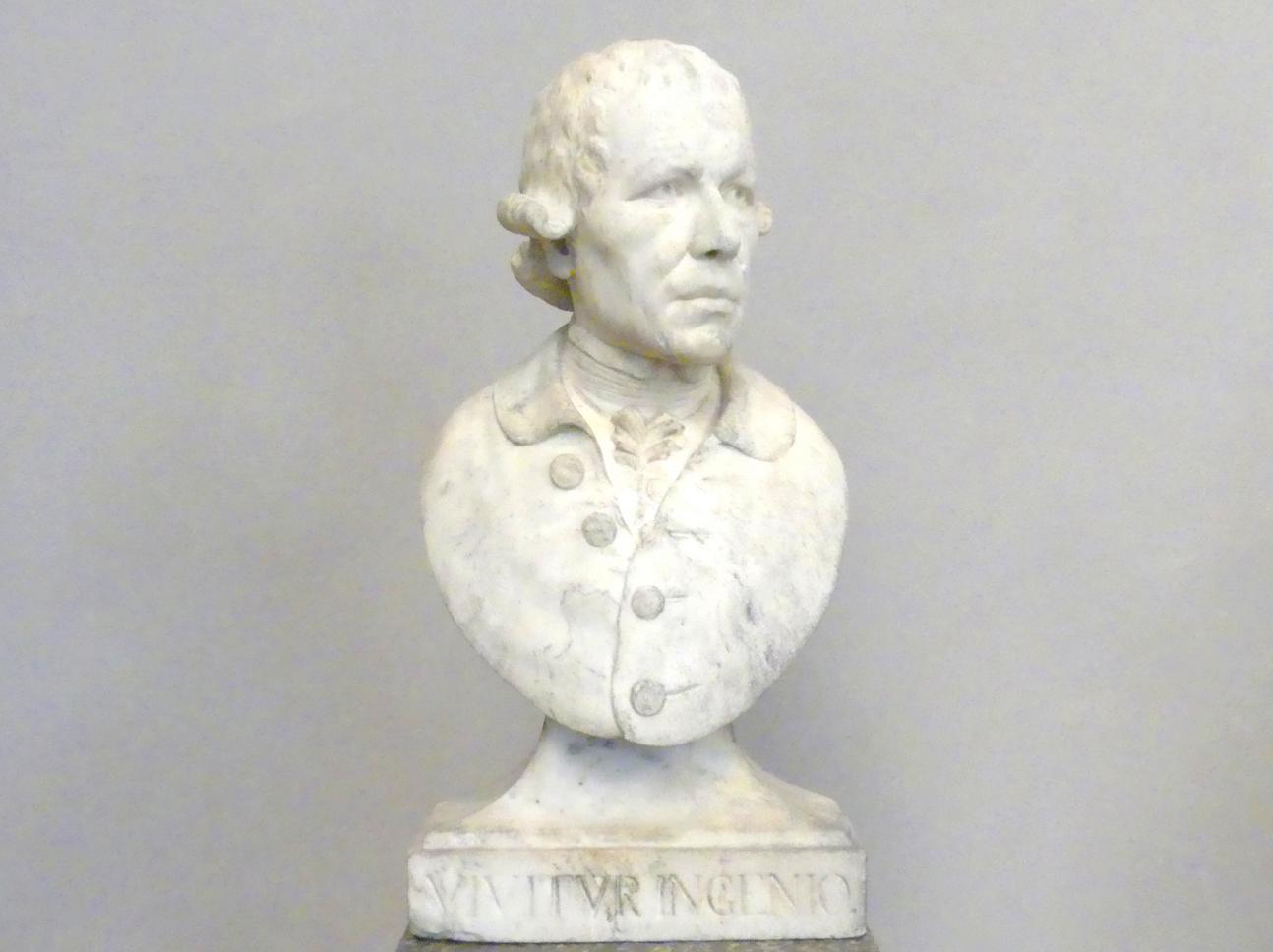 Roman Anton Boos: Selbstbildnis, Um 1790