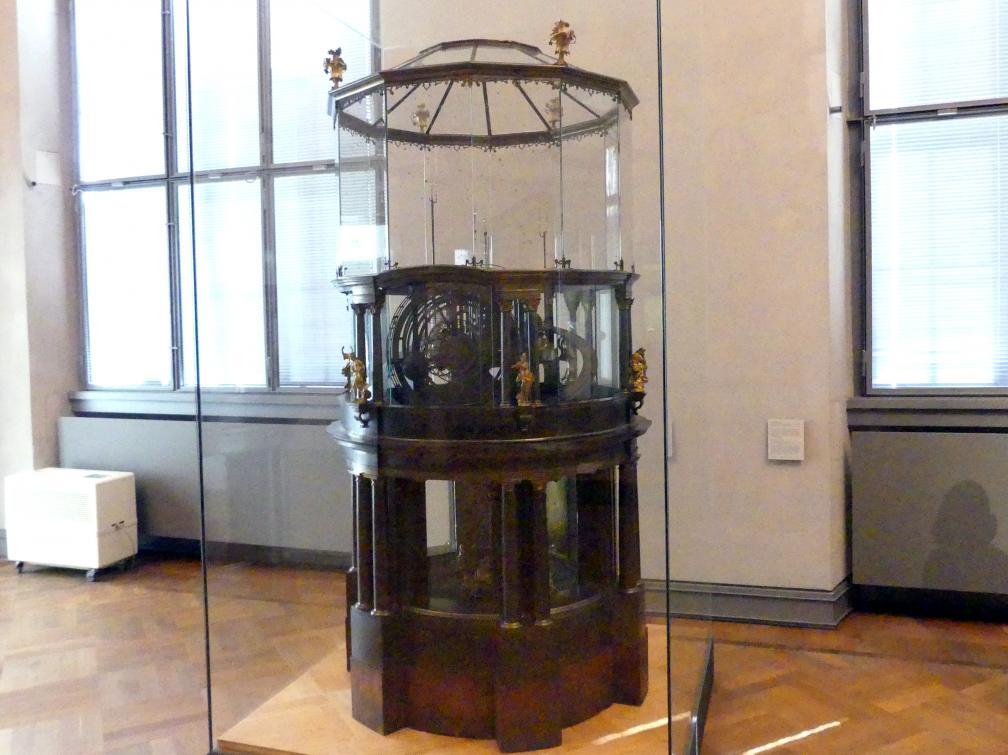 Johann Peter Wagner: Planetenmaschine, Um 1755 - 1761