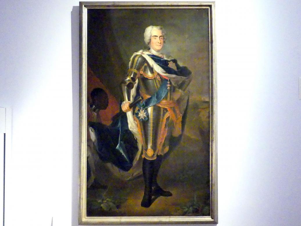 Louis de Silvestre (Werkstatt): August der Starke, Kurfürst von Sachsen, Um 1737