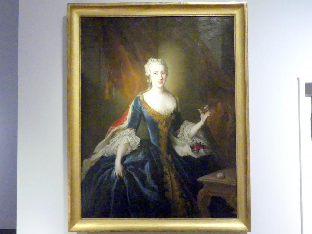 Louis de Silvestre: Prinzessin Maria Anna von Sachsen als Braut, Um 1746