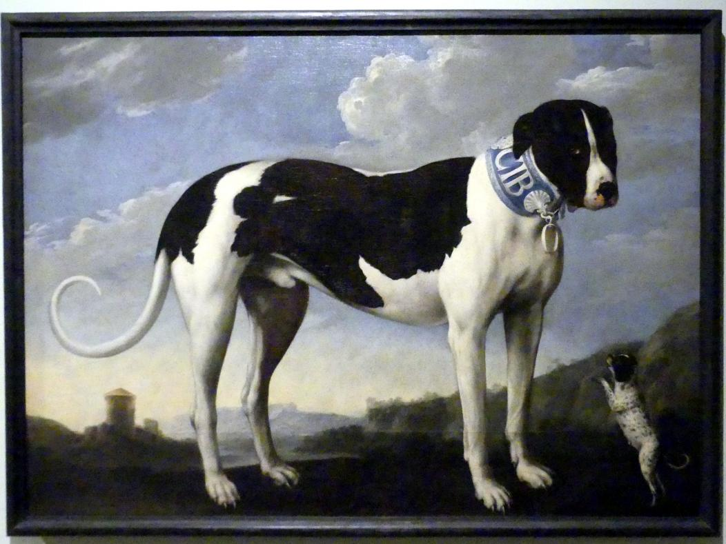 Johann Georg Waxschlunger: Dogge mit Welpe, Beginn 18. Jhd.