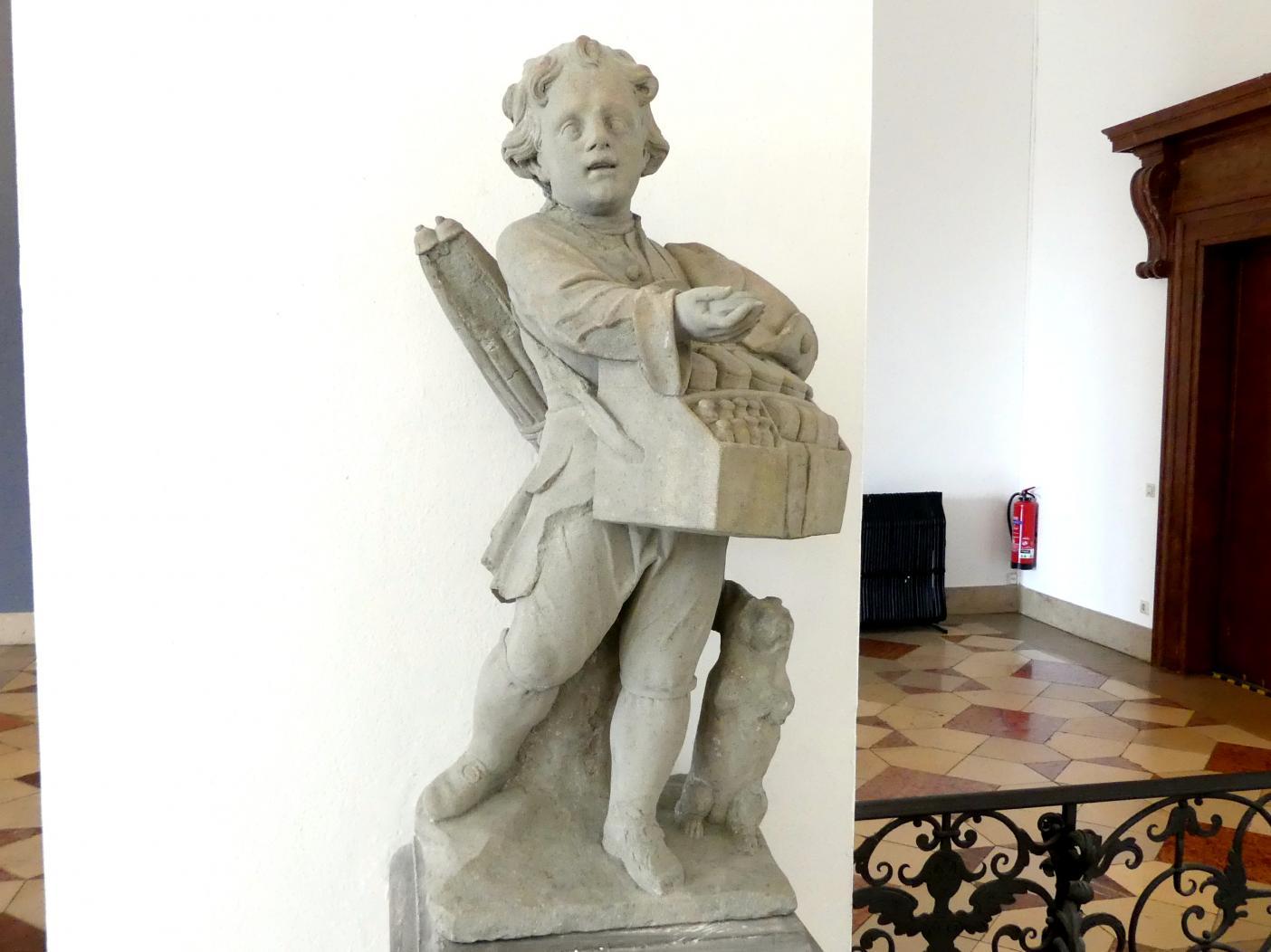 Johann Peter Wagner: Knabe mit Hund, Salben verkaufend, um 1775