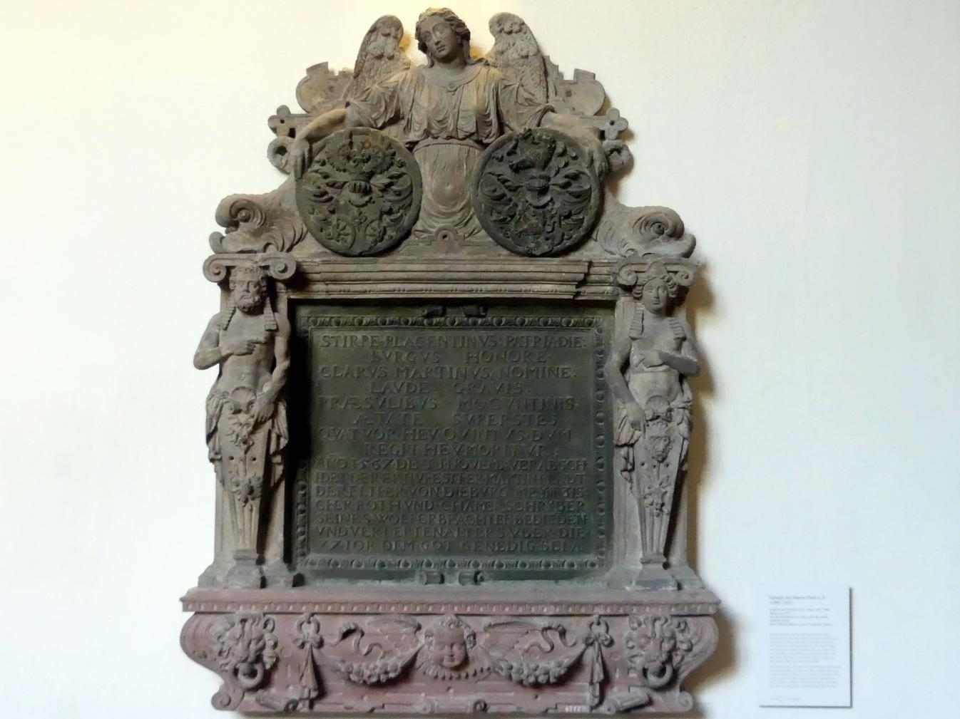 Dietrich Schro (Umkreis): Epitaph des Martin Fladt d. Ä. (1490-1567), Um 1567