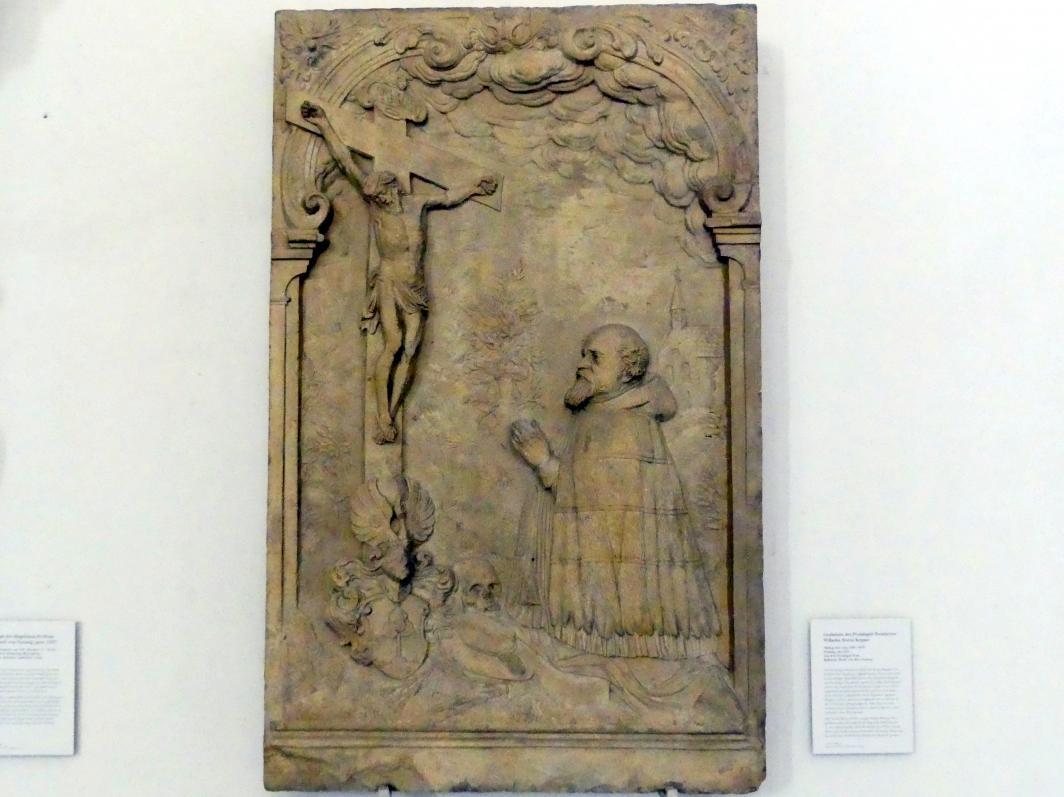 Philipp Dirr: Grabstein des Freisinger Domherrn Wilhelm Sixtus Kepser, Um 1627