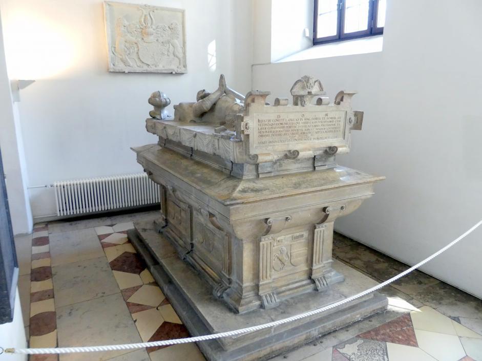 Hans Ernst: Grabmal des Ladislaus von Fraunberg, Graf von Haag (vor 1505-1566), Um 1567 - 1568